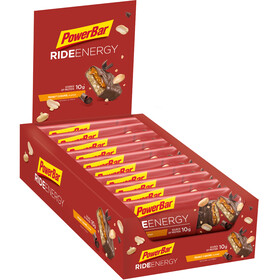 PowerBar RideEnergy Bar Box 18x55g, Peanut-Caramel